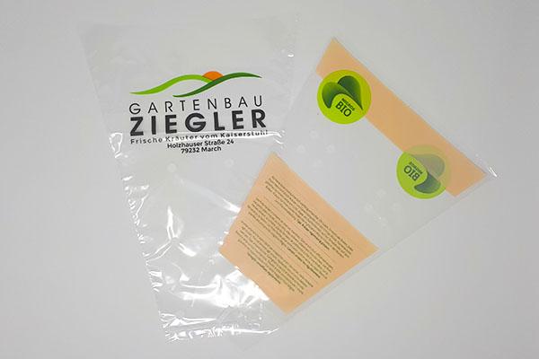 Verpackungstrichter Mit Firmendruck