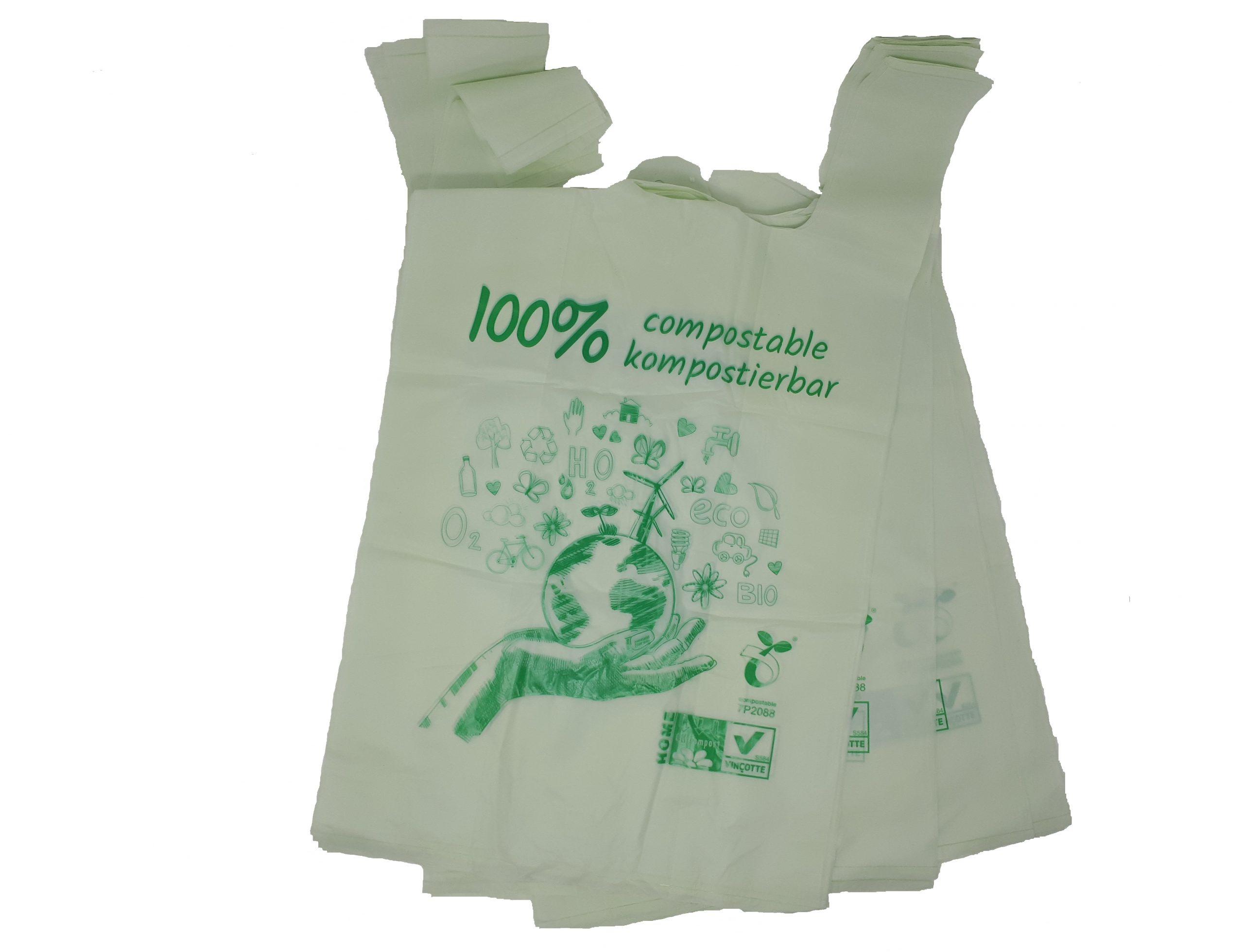 BIO-Knotenbeutel Und BIO-Hemdchentragetaschen