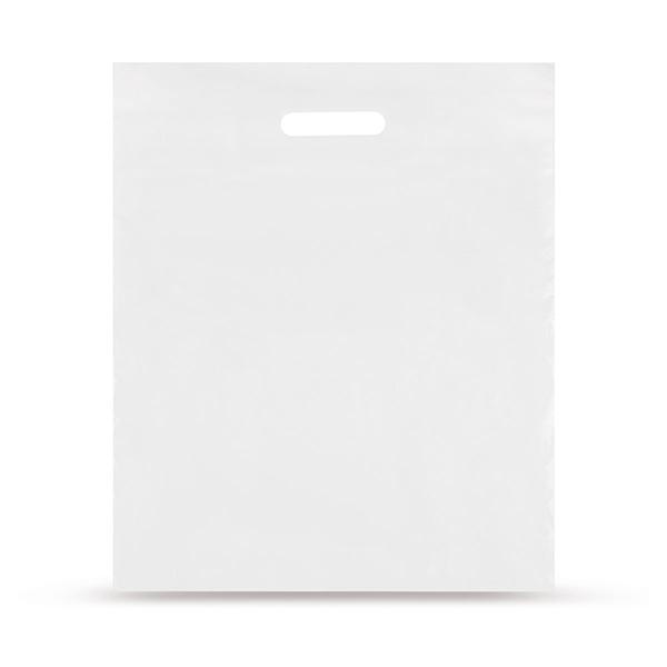 AKTION MDPE-Folientragetaschen, Weiß, 38 My