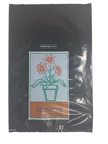 Erdbeutel für Blumenerde