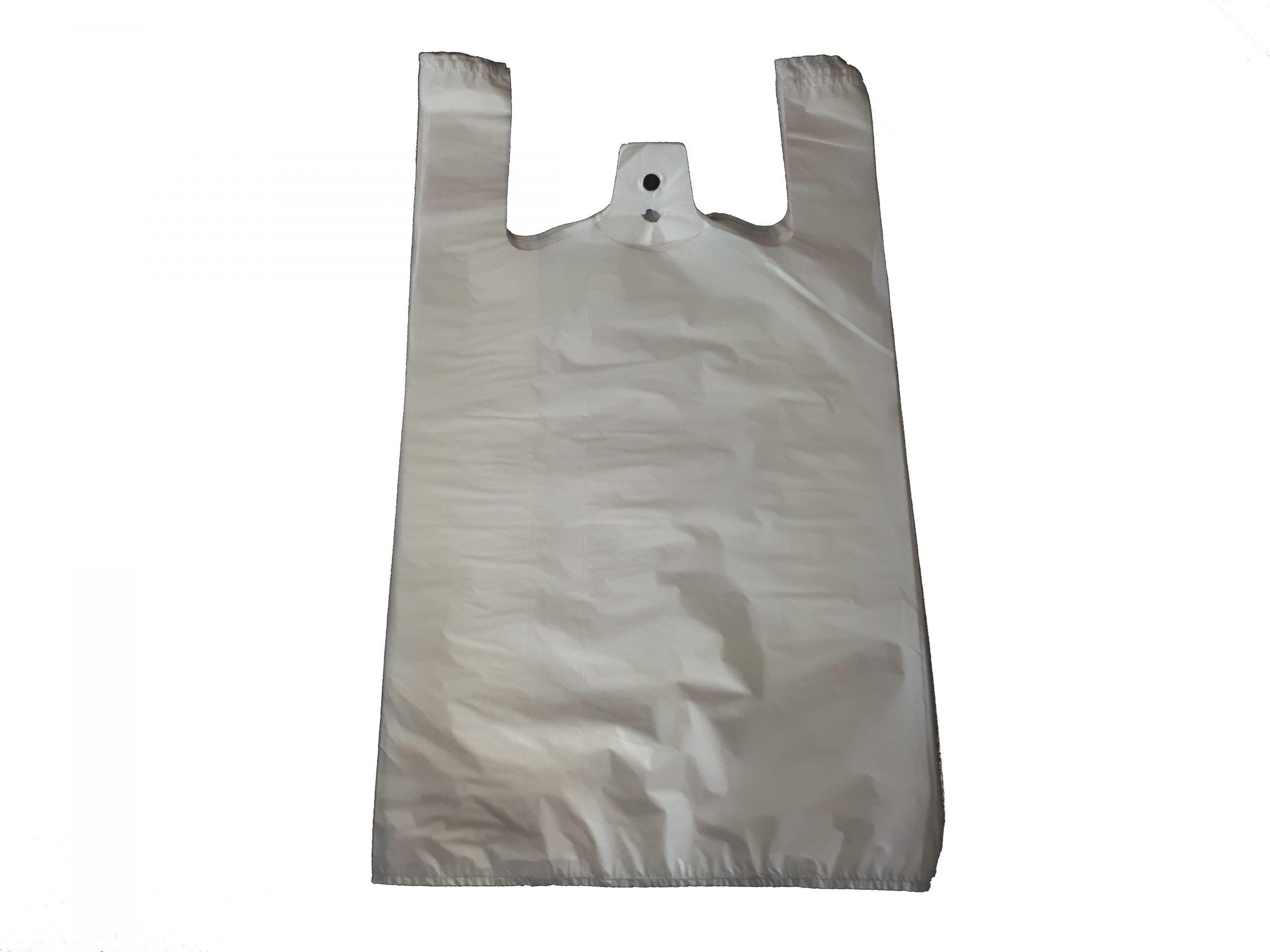 AKTION LDPE-Hemdchentragetaschen, Weiß, 28 My