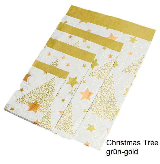 Geschenkflachbeutel Christmas Tree