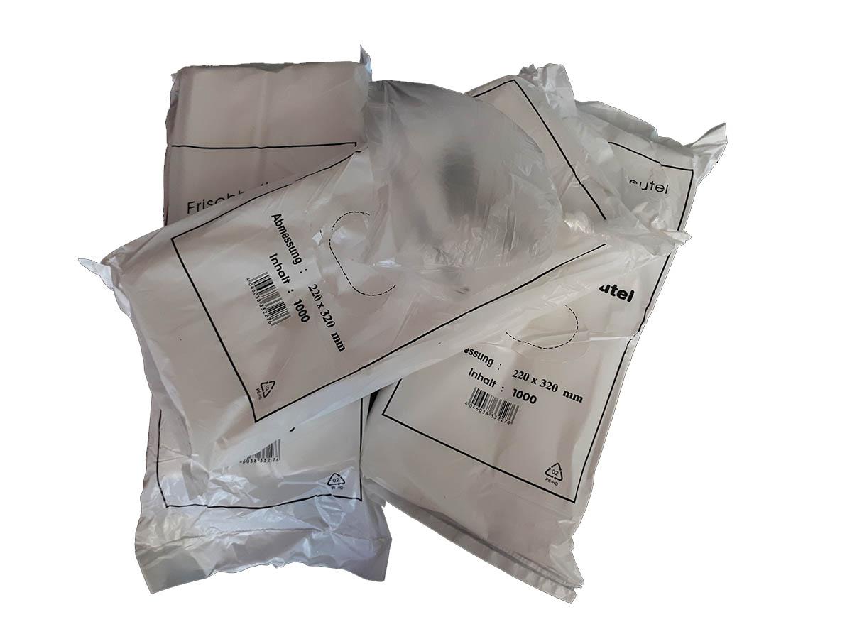 HDPE-Seitenfaltenbeutel, Transparent