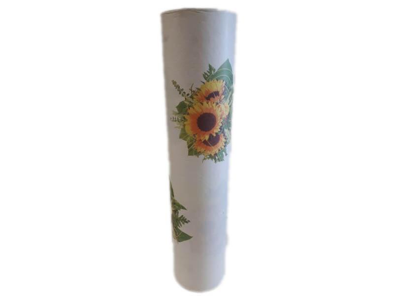 Blumenseide Sonnenblume 75 Cm