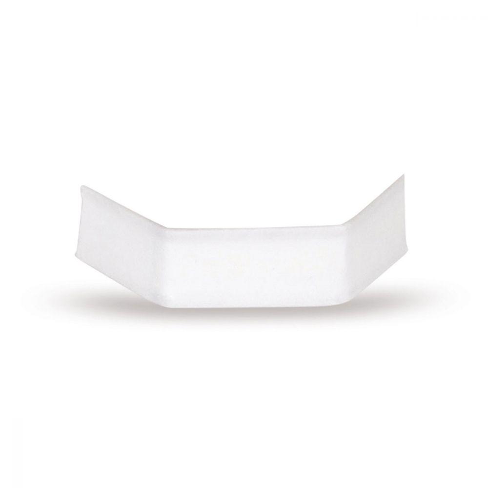Clips für Zellglasbodenbeutel weiß