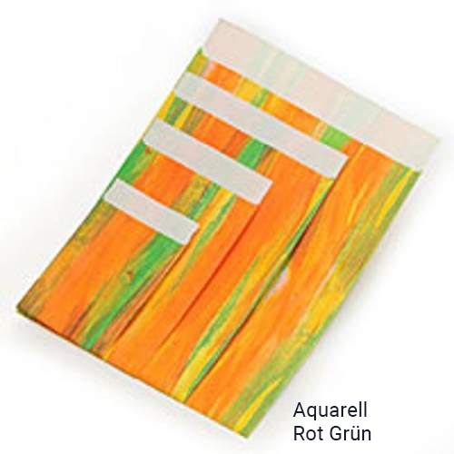 Geschenkflachbeutel Aquarell