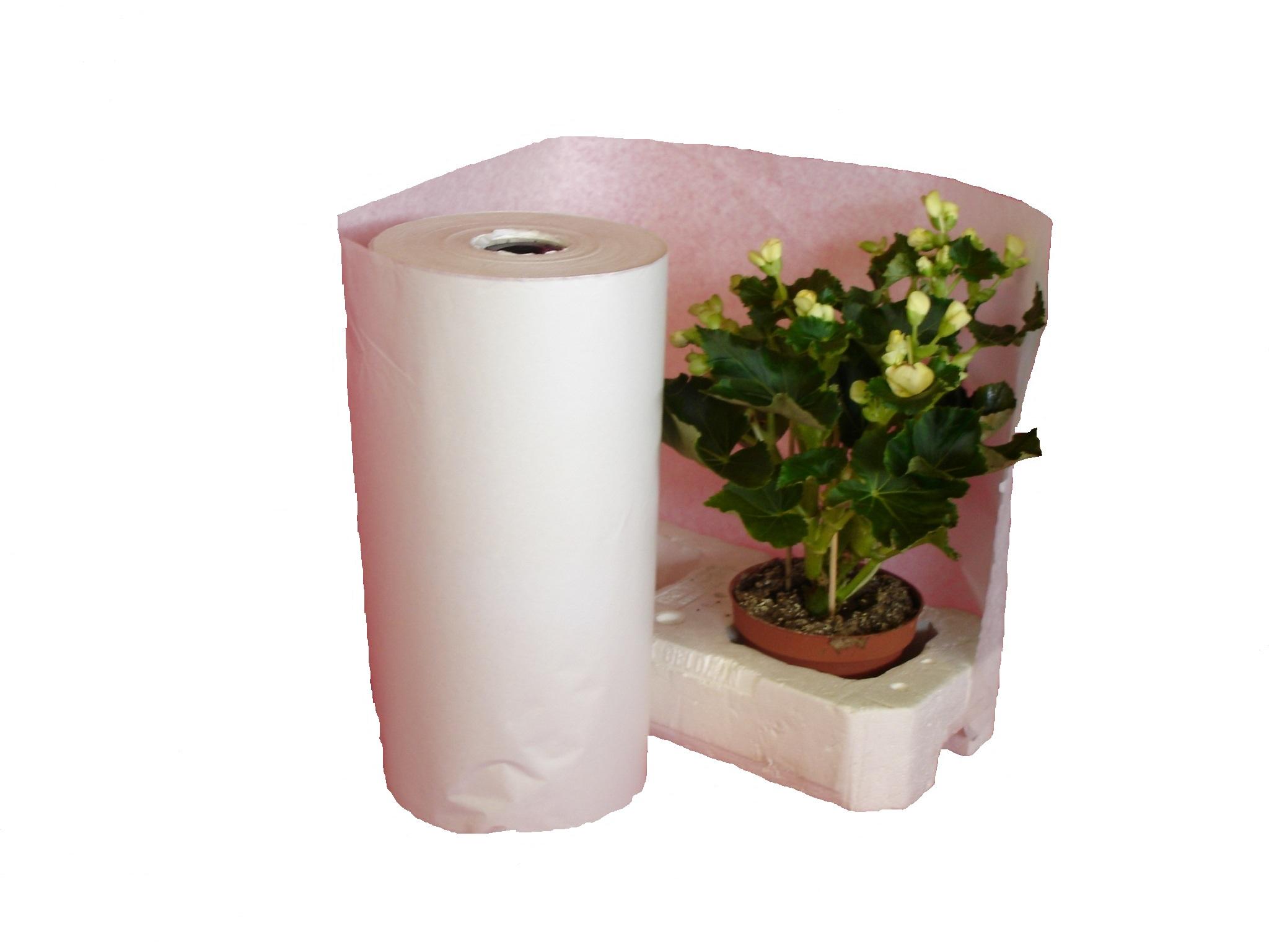 Papierrollen für Styroporpaletten